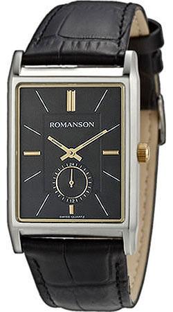 Мужские часы Romanson TL3237JMC(BK)BK
