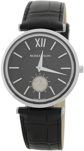 лучшая цена Мужские часы Romanson TL3238JMD(BK)BK