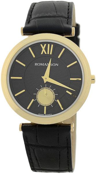 Мужские часы Romanson TL3238JMG(BK)BK