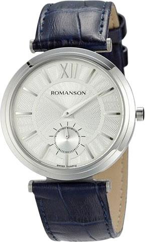 Мужские часы Romanson TL3238JMW(WH)BU romanson rl 6a11q lw bu
