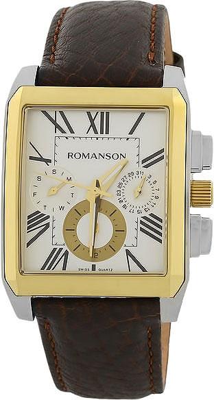 Мужские часы Romanson TL3250FMC(WH)BN все цены
