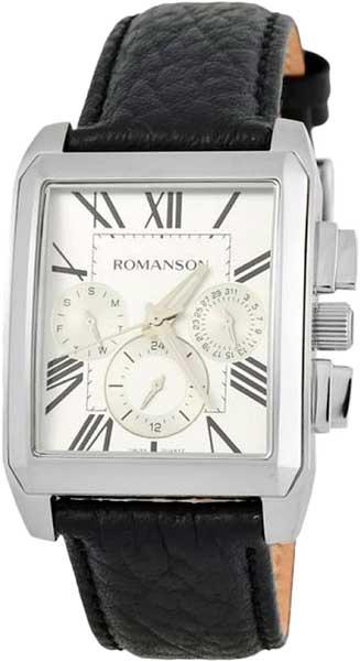 Мужские часы Romanson TL3250FMW(WH)BK мужские часы romanson tl3250fmw bk bk