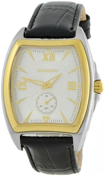 Мужские часы Romanson TL3598SMC(WH)