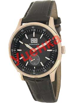 Мужские часы Romanson TL4131SMR(BK)-ucenka