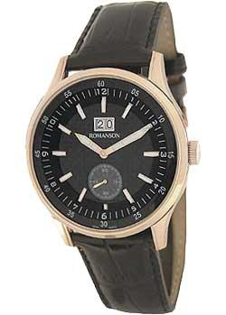 Мужские часы в коллекции Adel Мужские часы Romanson TL4131SMR(BK) фото