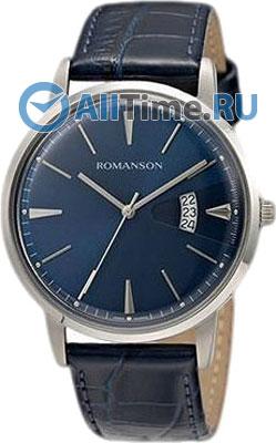 Мужские часы Romanson TL4201MW(BU)BU romanson tl 4201 mw wh bk
