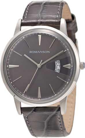 Мужские часы Romanson TL4201MW(GR)GR romanson tl 4201 mw wh bk