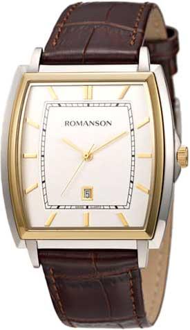Мужские часы Romanson TL4202MC(WH)