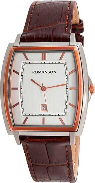 Мужские часы Romanson TL4202MJ(WH)