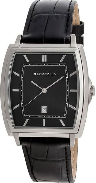 Мужские часы Romanson TL4202MW(BK)