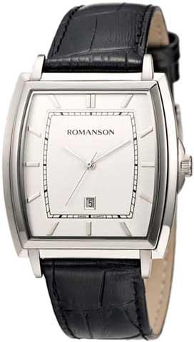 Мужские часы Romanson TL4202MW(WH)