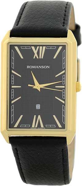 лучшая цена Мужские часы Romanson TL4206MG(BK)BK