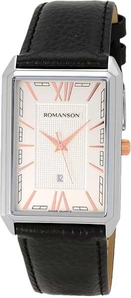 Мужские часы Romanson TL4206MJ(WH)BK romanson rl 1253q lw wh bk