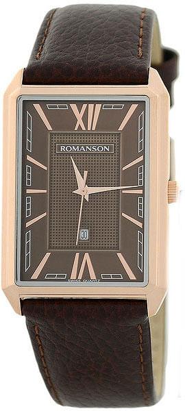 Мужские часы Romanson TL4206MR(BR)BN romanson romanson tl 1213 mr br