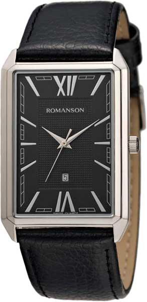 лучшая цена Мужские часы Romanson TL4206MW(BK)BK