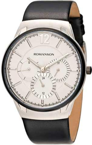 Мужские часы в коллекции Adel Мужские часы Romanson TL4209FMD(WH) фото