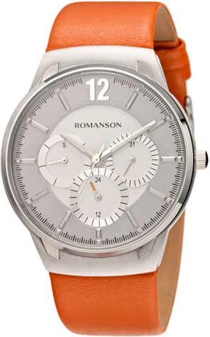цена Мужские часы Romanson TL4209FMW(WH)OR онлайн в 2017 году