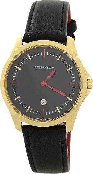 Женские часы Romanson TL4214UUG(BK)BK romanson romanson tl 2654 mr bk d bn