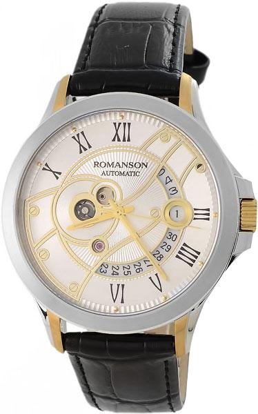 Мужские часы Romanson TL4215RMC(WH)BK цена и фото