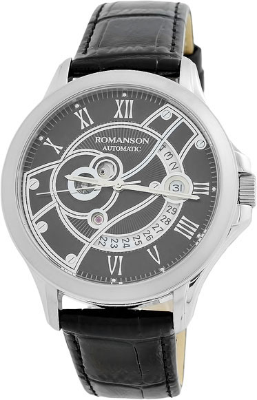 Мужские часы Romanson TL4215RMW(BK)BK мужские часы romanson tl3250fmw bk bk