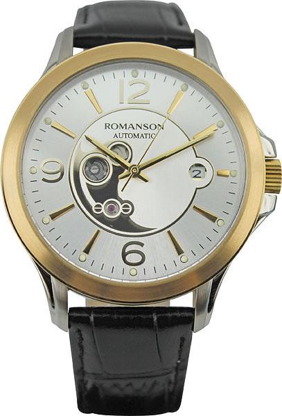 Мужские часы Romanson TL4216RMC(WH)BK мужские часы romanson tl9225mw bk