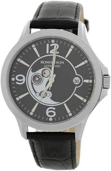 лучшая цена Мужские часы Romanson TL4216RMW(BK)BK