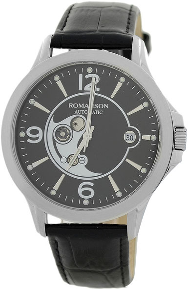 Мужские часы Romanson TL4216RMW(BK)BK