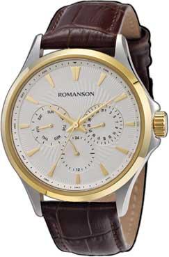 Мужские часы Romanson TL4222FMC(WH)