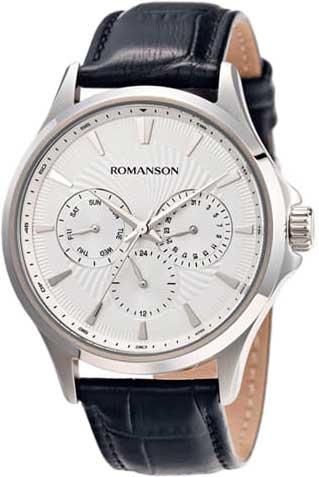 Мужские часы Romanson TL4222FMW(WH)