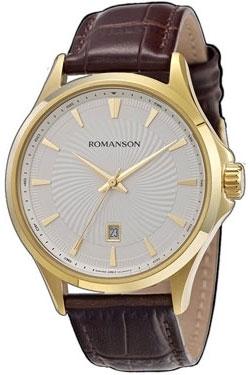 цена Мужские часы Romanson TL4222MG(WH) онлайн в 2017 году