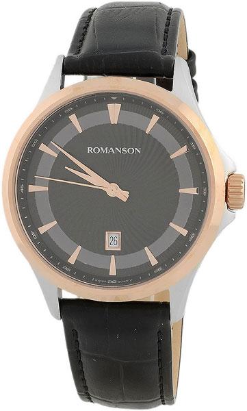 Мужские часы Romanson TL4222MJ(BK) мужские часы romanson tm8a19hmb bk