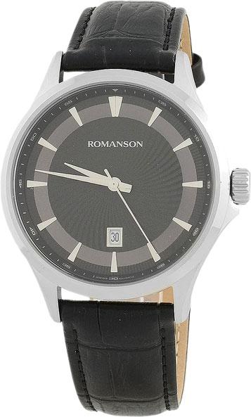 Мужские часы Romanson TL4222MW(BK) мужские часы romanson tl9225mw bk