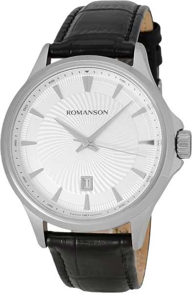 Мужские часы Romanson TL4222MW(WH)