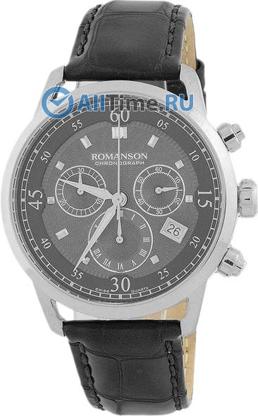 Мужские часы Romanson TL4223HMW(BK)
