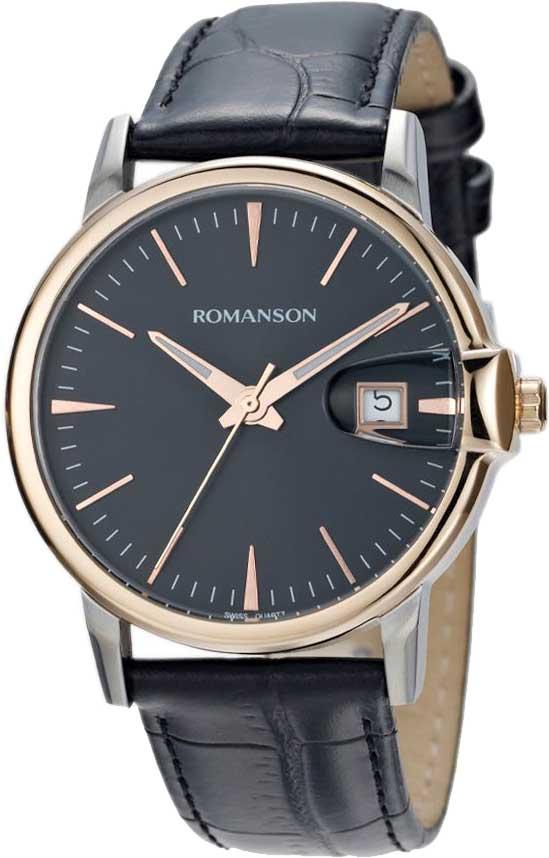 цены  Мужские часы Romanson TL4227MJ(BK)