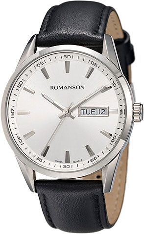 Мужские часы Romanson TL4241MW(WH) цена