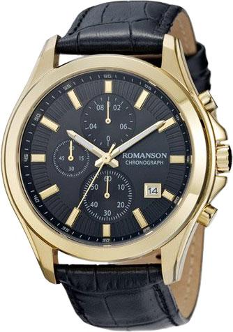 Мужские часы Romanson TL4247HMG(BK)