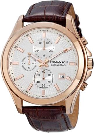Мужские часы Romanson TL4247HMR(WH)