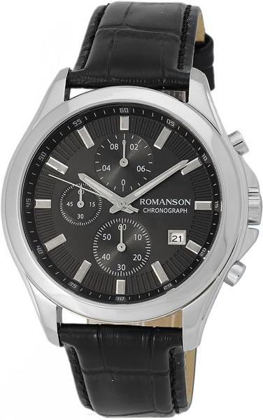 Мужские часы Romanson TL4247HMW(BK)
