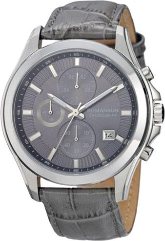 лучшая цена Мужские часы Romanson TL4247HMW(GR)