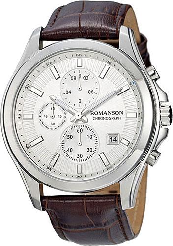 Фото - Мужские часы Romanson TL4247HMW(WH) бензиновая виброплита калибр бвп 13 5500в