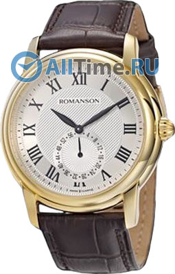 Мужские часы Romanson TL4255JMG(WH) fit 16951