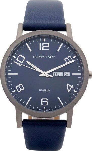 Мужские часы Romanson TL4257MW(BU) romanson rl 6a11q lw bu