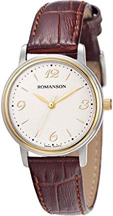 Женские часы Romanson TL4259LC(WH) romanson rn 0356 lc wh