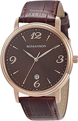 Мужские часы Romanson TL4259MR(BR) все цены
