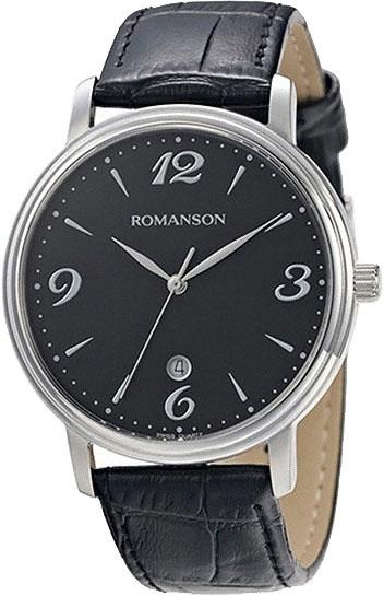 Мужские часы Romanson TL4259MW(BK)