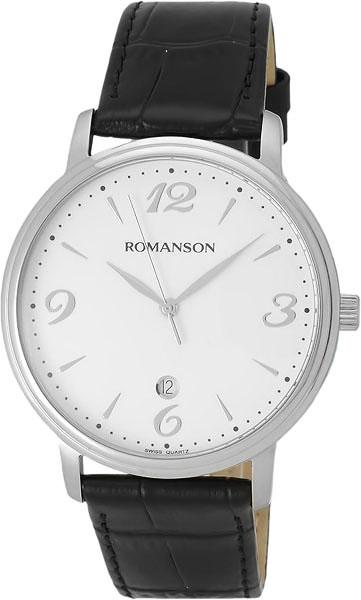 Мужские часы Romanson TL4259MW(WH)