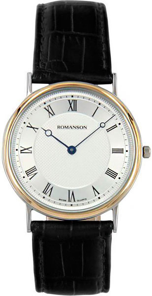 Мужские часы Romanson TL5110SMC(WH) romanson часы romanson tm7266mj wh коллекция adel