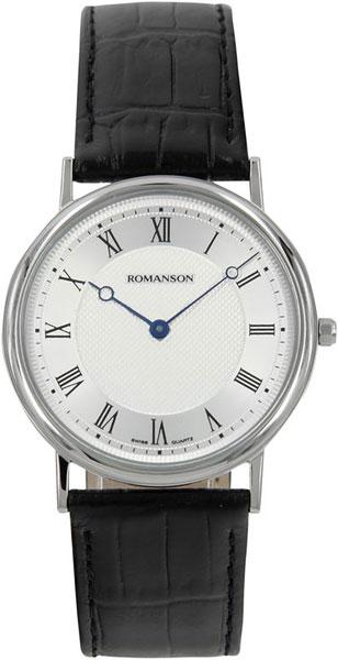 Мужские часы Romanson TL5110SMW(WH) наручные часы romanson tl5110smw wh