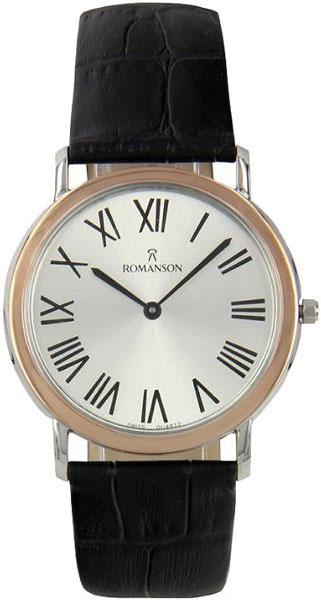 Мужские часы Romanson TL5111MC(WH) romanson tm 9248 mj wh